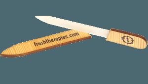 fresh therapies - glass nail file